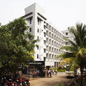 Pillai Institute of Management Studies & Research - Building Side View - Pillai Institute of Management Studies & Research - Building Side View