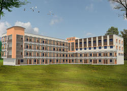 College Building Full View - Gurusai Polytechnic College, Chandrapur