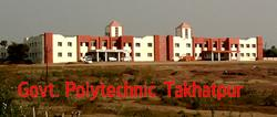 College Building View - Govt Polytechnic, Takhatpur