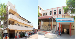College Building - Balbhim Arts Science  Commerce College, Beed