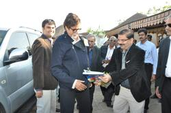 Amitabh Bachchan at College - HJD Institute of Technical Education and Research, Kutch