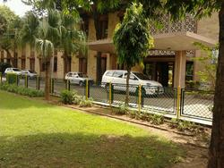 College Parking and Main office - Madhav Institute of Technology and Science, Gwalior