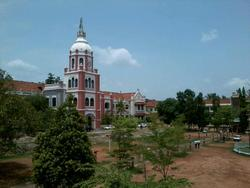 College Building - SB College St Berchmans College, Changanassery