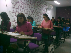 Classroom - Inter National Institute of Fashion Design INIFD, Baroda