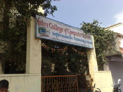 College Entrance - College of Computer Science, Nanded