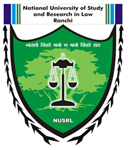 National University of Study and Research in Law, Ranchi