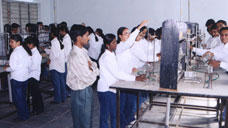 Chemistry Lab - PES College of Engineering, Aurangabad