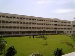 College Building View and garden view - Maharashtra Institute of Medical Sciences  Research, Latur