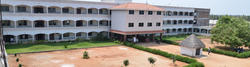 College Building Front View and Campus - Kongu Polytechnic College, Perundurai