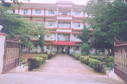 College Building - Vinayaka Missions College of Pharmacy,