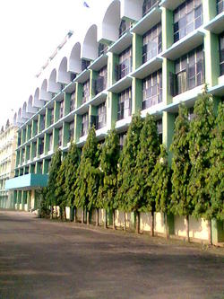 College Building Side View - Medical College, Kottayam