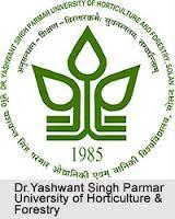 Dr.Yashwant Singh Parmar University of Horticulture & Forestry, Solan