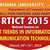 National Seminar On Recent Trends In Information And Communication Technology, Krishna University, March 30-31 2015, Machilipatnam, Andhra Pradesh
