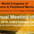 World Congress of Brachial Plexus & Peripheral Nerve Surgery, All India Institute Of Medical Sciences, February 4-7 2016, New Delhi, Delhi