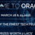 Oracle '16, Government College of Technology, March 28-29 2016, Coimbatore, Tamil Nadu
