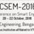 International Conference on Smart Engineering Materials, R V College of Engineering, October 20-22 2016, Bangalore, Karnataka