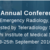 3rd Annual Conference of the Society of Emergency Radiology (ACSCR) 2016, VINS, September 23-25 2016, Bangalore, Karnataka