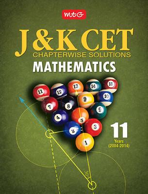 11 Years J & K CET Chapterwise Solutions - Mathematics (English) by MTG Editorial Board