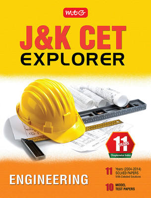 11 Years J & K CET Explorer - Engineering (English) by MTG Editorial Board
