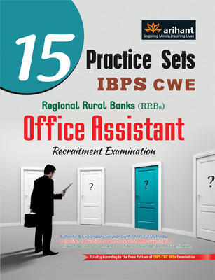 15 Practice Sets IBPS CWE Regional Rural Banks Office Assistant Recruitment Examination (English) 1st  Edition by Arihant Experts