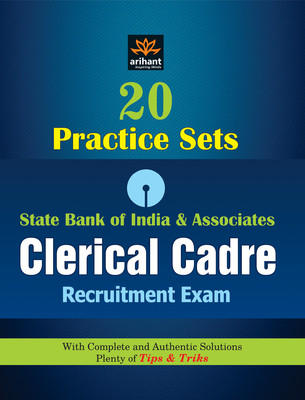 20 Practice Sets - SBI & Associates Clerical Cadre Recruitment Exam (English) by Expert Compilations
