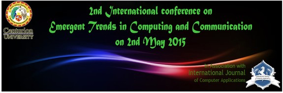 ETCC 2015, Centurion University of Technology and Management (CUTM), May 2 2015, Bhubaneswar, Orissa