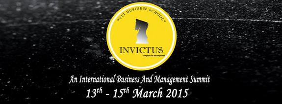INVICTUS`15, VIT University, March 13-15 2015, Vellore, Tamil Nadu