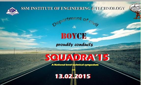 SQUADRA 15, SSM Institute of Engineering and Technology, February 13 2015, Dindigul, Tamil Nadu