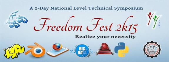 Freedom Fest 2015, KL University, February 6-7 2015, Vijayawada, Andhra Pradesh