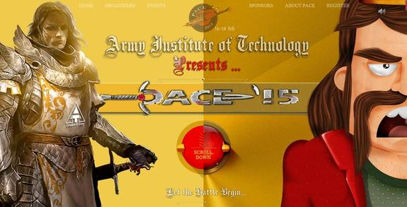 PACE 15, Army Institute of Technology, February 16-18 2015, Pune, Maharashtra