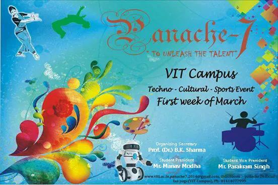 PANACHE 7, Vivekananda Institute of Technology Jaipur, February 19-21 2015, Jaipur, Rajasthan