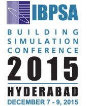 14th International Building Simulation Conference, IBPSA, December 7-9 2015, Hyderabad, Andhra Pradesh