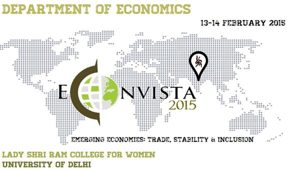 Econvista 2015, Lady Shri Ram College for Women, February 13-14 2015, New Delhi, Delhi