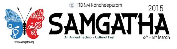 Samgatha 2015, Indian Institute of Information Technology, Design and Manufacturing, March 6-8 2015, Chennai, Tamil Nadu