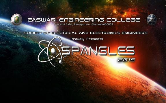 SPANGLES 2K15, Easwari Engineering College, February 3 2015, Chennai, Tamil Nadu