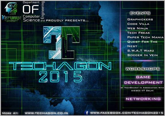 TECHAGON 15, Karunya University, February 5-6 2015, Coimbatore, Tamil Nadu