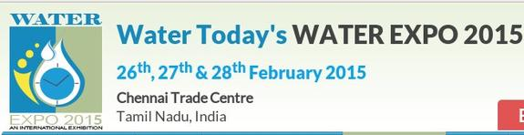 WATMAN 2015, Chennai Trade Centre, February 26-28 2015,Chennai, Tamilnadu