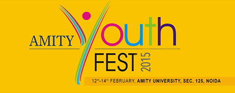 Youth Fest, Amity School Of Engineering And Technology, February 12 2015, Noida, Uttar Pradesh