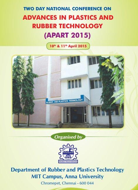 APART 2015, Madras Institute of Technology, April 10-11 2015, Chennai, Tamil Nadu