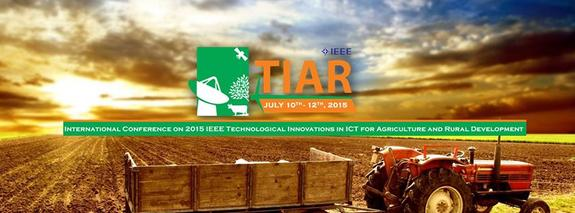 EEE Technological Innovations in ICT for Agriculture and Rural Development 2015, Easwari Engineering College, July 10-12 2015, Chennai, Tamil Nadu
