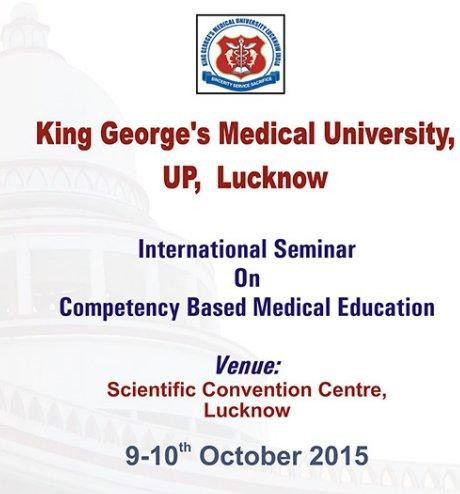 International Seminar on Competency Based Medical Education, King George
