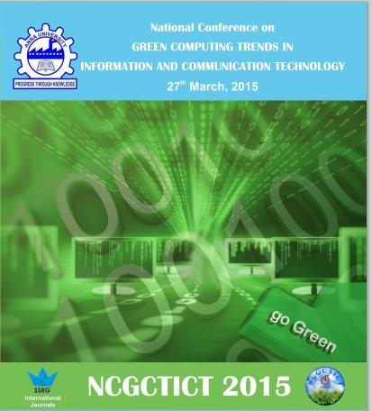 NCGCTICT 2015, University College of Engineering, March 27 2015, Kancheepuram, Tamil Nadu
