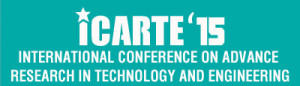 International Conference on Advance Research in Engineering and Technology - ICARTE 15, Sri Ranganathar Institute of Engineering and Technology, March 20 2015, Coimbatore, Tamil Nadu