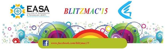 BLITZMAC 15, Easa College of Engineering and Technology, February 20 2015, Coimbatore, Tamil Nadu
