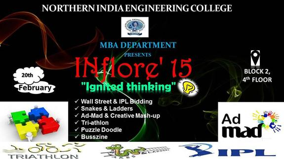 INflore 2015, Northern India Engineering College, February 20 2015, New Delhi, Delhi