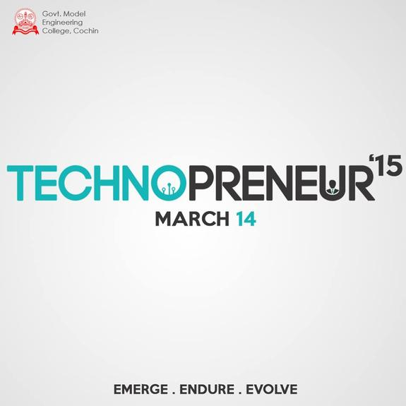 Technopreneur 2015, Model Engineering College, March 14 2015, Kochi, Kerala
