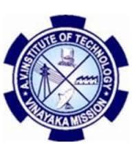 National Conference on Recent Trends in Engineering 2015, Aarupadai Veedu Institute of Technology AVIT, March 5-6 2015, Chennai, Tamil Nadu