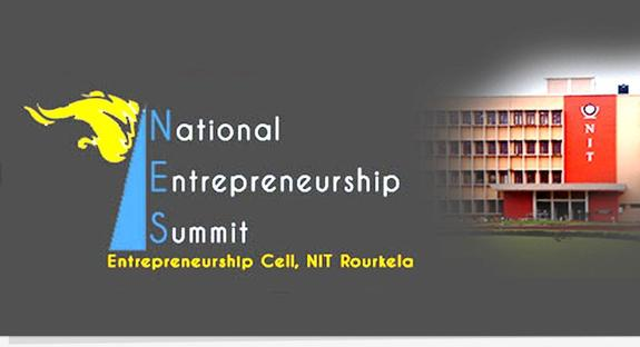 National Entrepreneurship Summit 2015, National Institute of Technology, March 21-22 2015, Rourkela, Odhisha