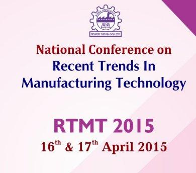 RTMT 2015, College of Engineering Guindy, April 16-17 2015, Chennai, Tamil Nadu
