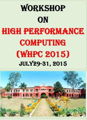 WHPC 2015, Indian School of Mines, July 29-31 2015, Dhanbad, Jharkhand